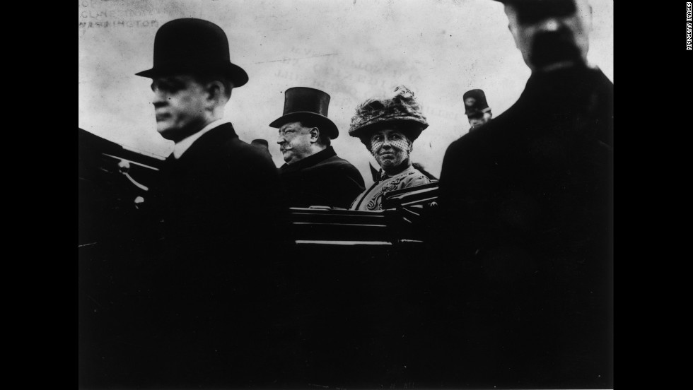 William Howard Taft was inaugurated on March 4, 1909.