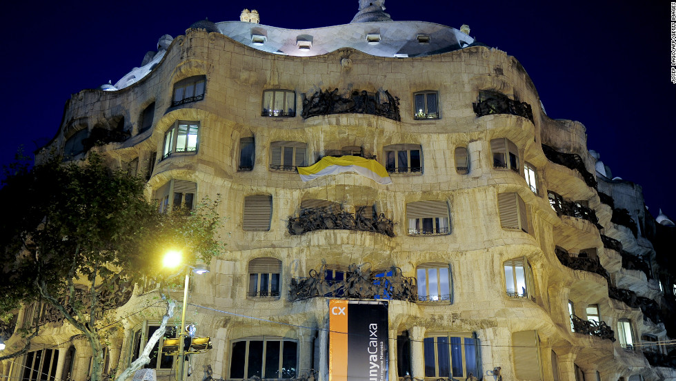 "Widely known as La Pedrera (The Quarry), this iconic building recently celebrated its centennial year. Renowned Catalan architect Antoni Gaudi designed it for a wealthy couple, complete with innovative features of the time including private elevators, staircases and an underground parking garage. <br /><br />After years of neglect, <a href=""http://www.lapedrera.com/en/home"" target=""_blank"">Casa Mila</a> was restored to its original glory in the late 1990s and today features a one-of-a-kind terrace and exhibition center created by the current owners, the Caixa Catalunya Foundation."