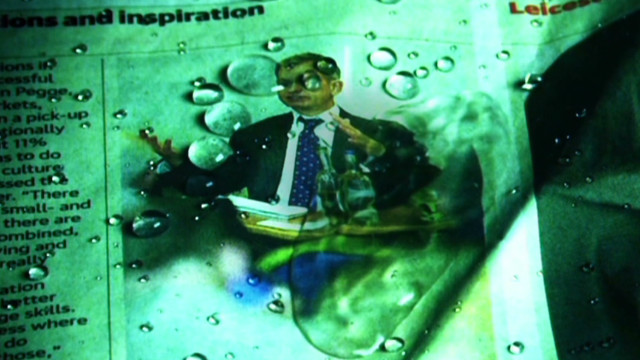 Invention makes objects liquid repellent