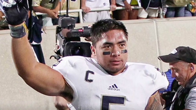 When will Manti Te'o speak?