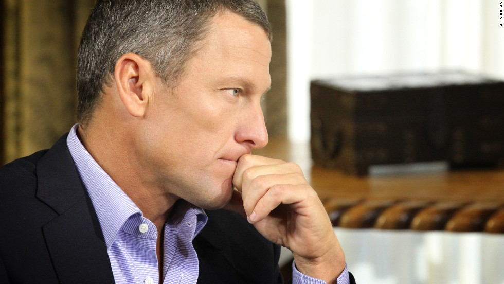 Lance Armstrong, the seven time Tour de France winner, revealed he had used an array of performance enhancing drugs to win the event. Armstrong admitted using testosterone and human growth hormone, as well as EPO -- a hormone naturally produced by human kidneys to stimulate red blood cell production.