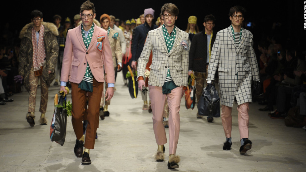British-inspired fabrics and cuts influenced the look both on the streets and vendor booths this month at international menswear show Pitti Immagine Uomo in Florence, Italy.