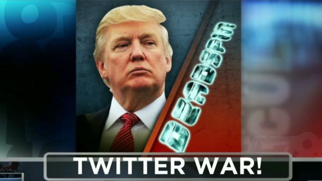 Donald Trump and Deadspin at war