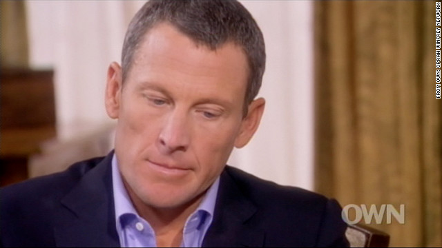 Lance Armstrong talks with Oprah Winfrey on the OWN Network.