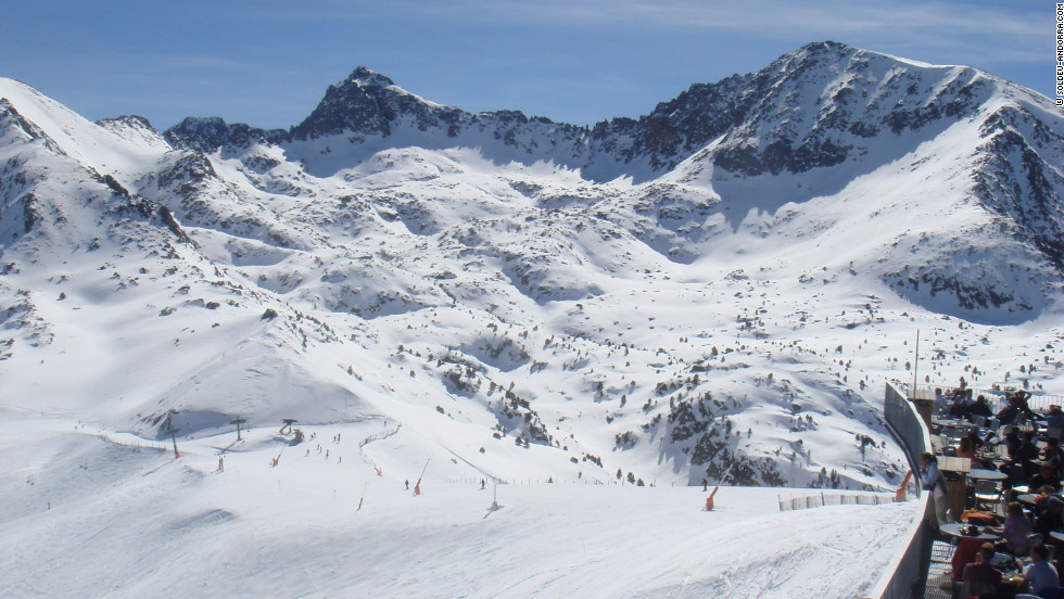 Soldeu is Andorra's biggest and best resort, with an incredibly cheap weekly pass (US$259).