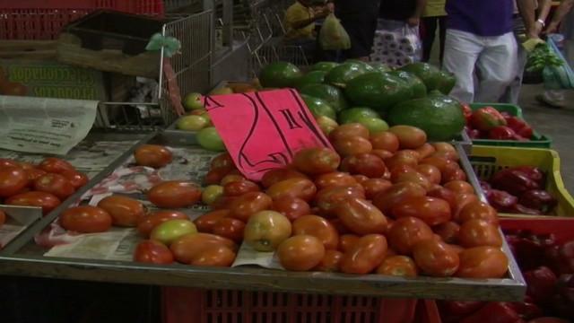 Venezuela struggles with food shortages