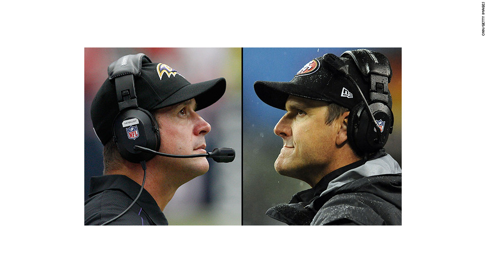 John Harbaugh, left, and Jim Harbaugh became the first siblings to face each other as coaches in a major sports match-up on Super Bowl Sunday in 2013. Older brother John Harbaugh's Baltimore Ravens won over the San Francisco 49ers. <br /><br />Here's a look at some of the most dramatic, best-known sibling rivalries -- real and fictional:<br />
