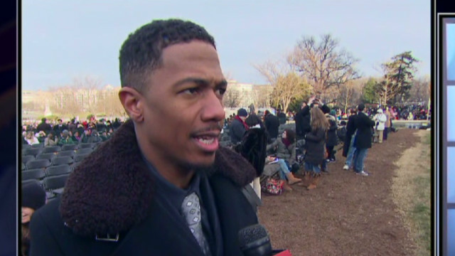 Nick Cannon: MLK honored in inauguration
