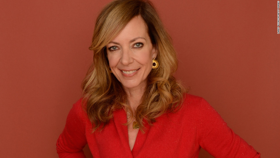 """Touchy Feely"" star Allison Janney at Village at the Lift."