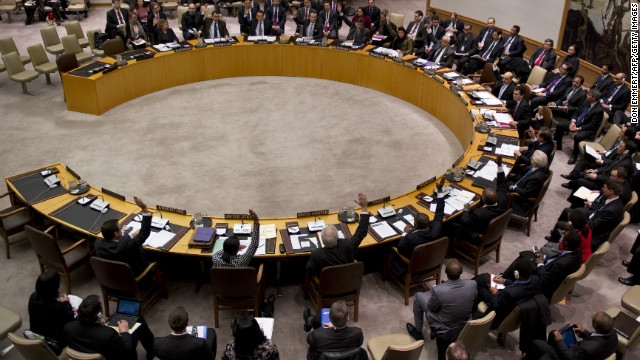 The United Nations Security Council voted on nonproliferation sanctions for North Korea on January 22.