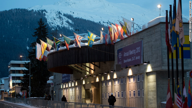 The congress center at the Swiss resort of Davos. The World Economic Forum (WEF) will take place from 23 to 27 January.