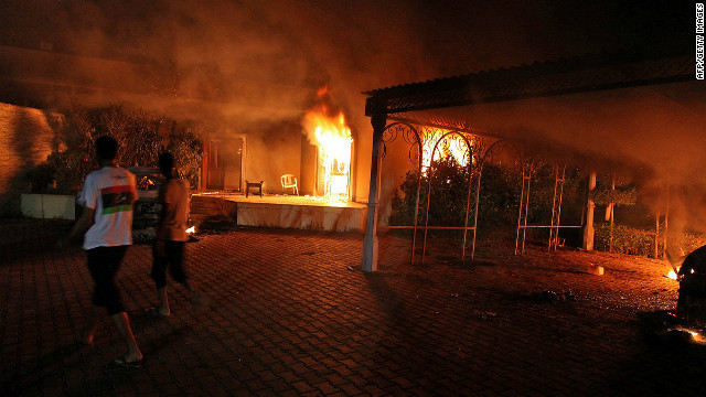 Clash on the hill over Benghazi attack