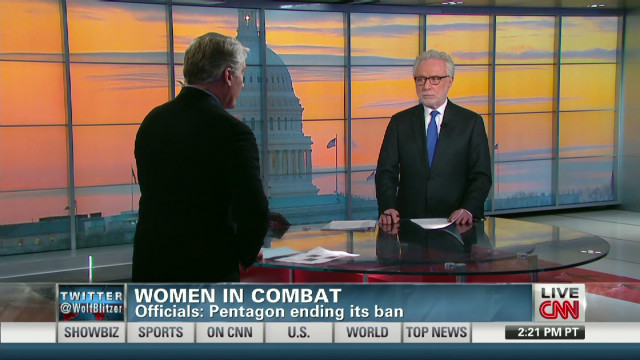 Politics behind women in combat
