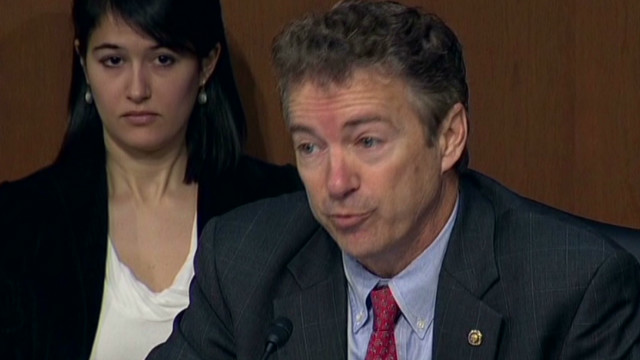 Sen. Paul: I would have fired Clinton