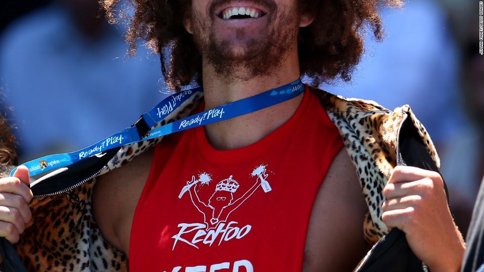 """Stefan """"Redfoo"""" Gordy attends the 2013 Australian Open in Melbourne, Australia."""