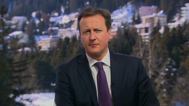 Cameron on U.K.-E.U. relationship