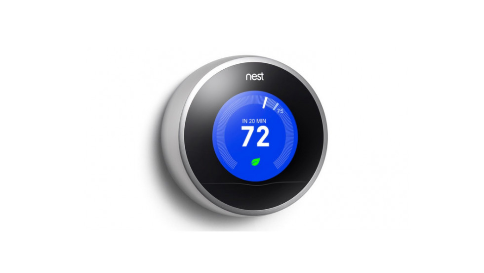 "<a href=""https://nest.com/"" target=""_blank"">Nest</a> is billed as a smart thermostat that learns from you. Over time, the easy-to-install device finds out about your domestic patterns and adjusts to maximize both comfort and energy efficiency."