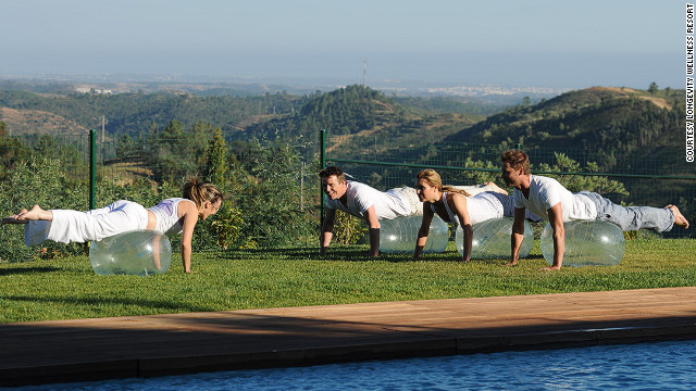 Anti-aging experts are on hand to de-wrinkle your life at the Longevity Wellness Resort in the Algarve.