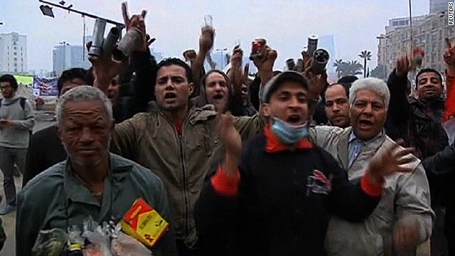 Anti-Morsy protesters rally in Cairo