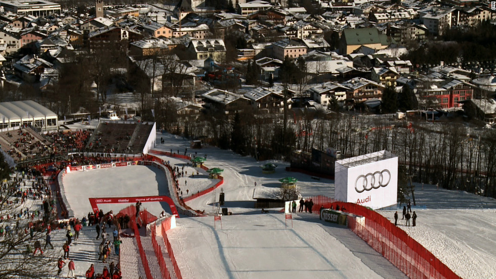 The Streif, on the Hahnenkamm mountain in Kitzbuhel, is a combination of blind turns and varying gradients. It is downhill's most famous and feared slope.