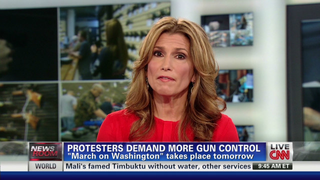 Actress to protest for more gun control