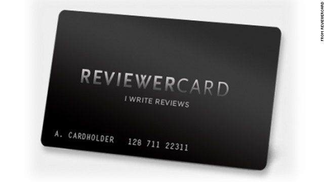 "The founder of ReviewerCard says, ""It's not a threat. It's a way to get the service you deserve."""