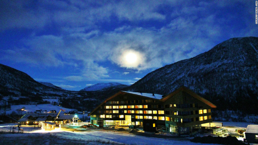 The Myrkdalen Hotel Voss is just a few months old but they know skiing. Norway invented the sport.