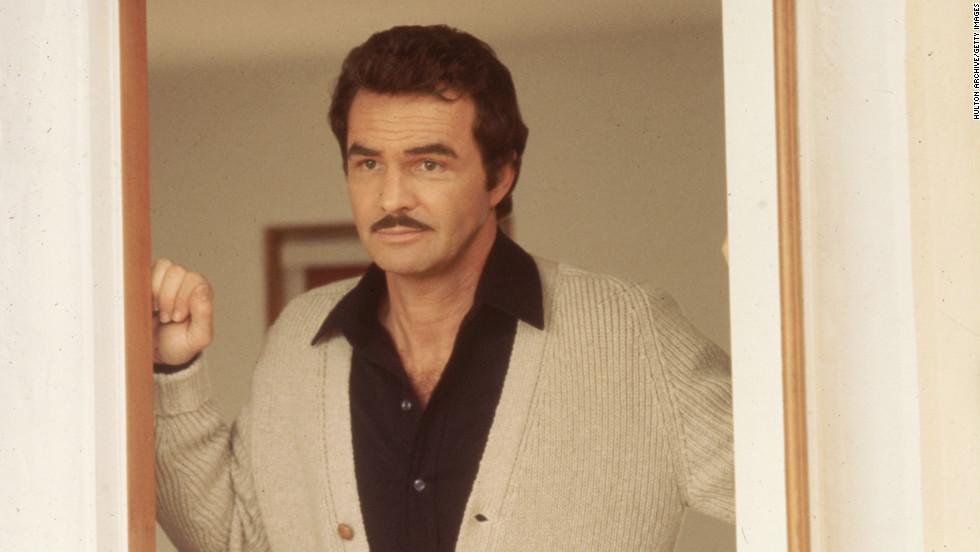 Burt in 1975.