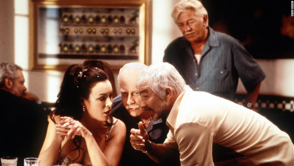 "Jennifer Tilly, Richard Dreyfuss and Burt Reynolds star in ""The Crew"" in 2000."