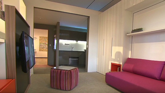 Could you live in 300-sq.-ft. apartment?