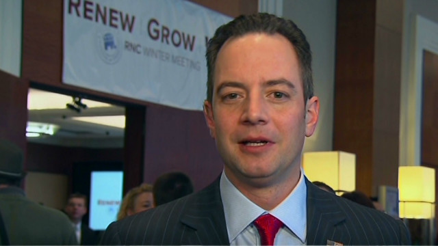 Priebus: GOP has to be a 'happy party'