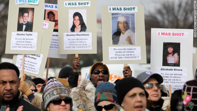 March for gun control in Washington