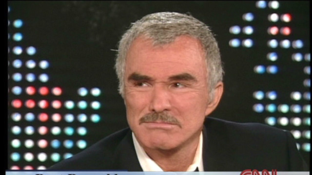 2000: Burt Reynolds on his 64th birthday