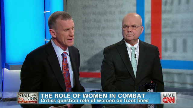 The role of women in combat