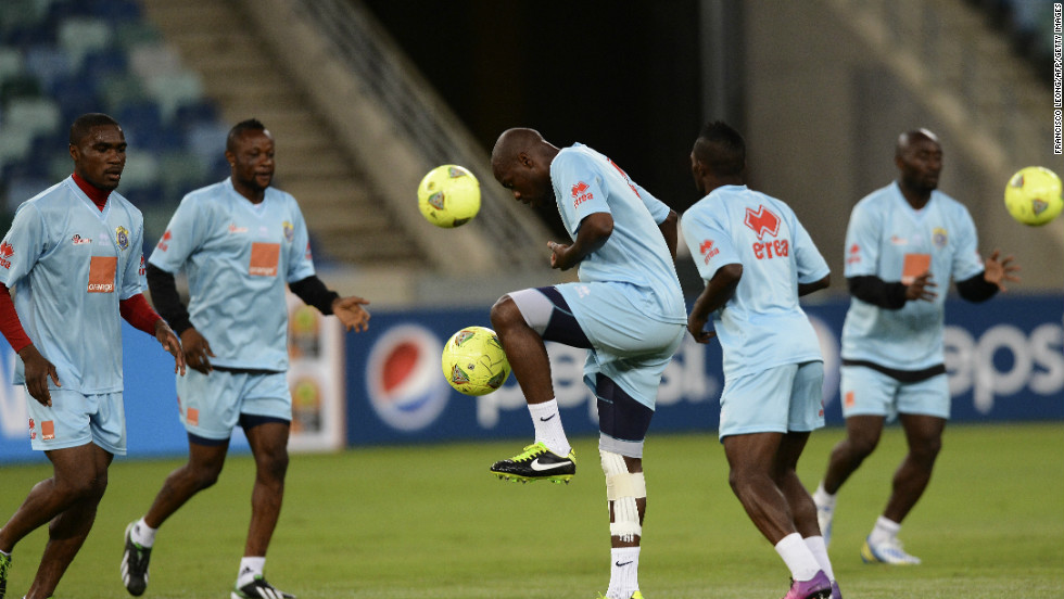 The Democratic Republic of Congo went out of the competition at the group stage after drawing all three of their games.