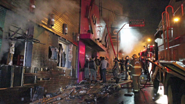Brazil nightclub fire as it happened