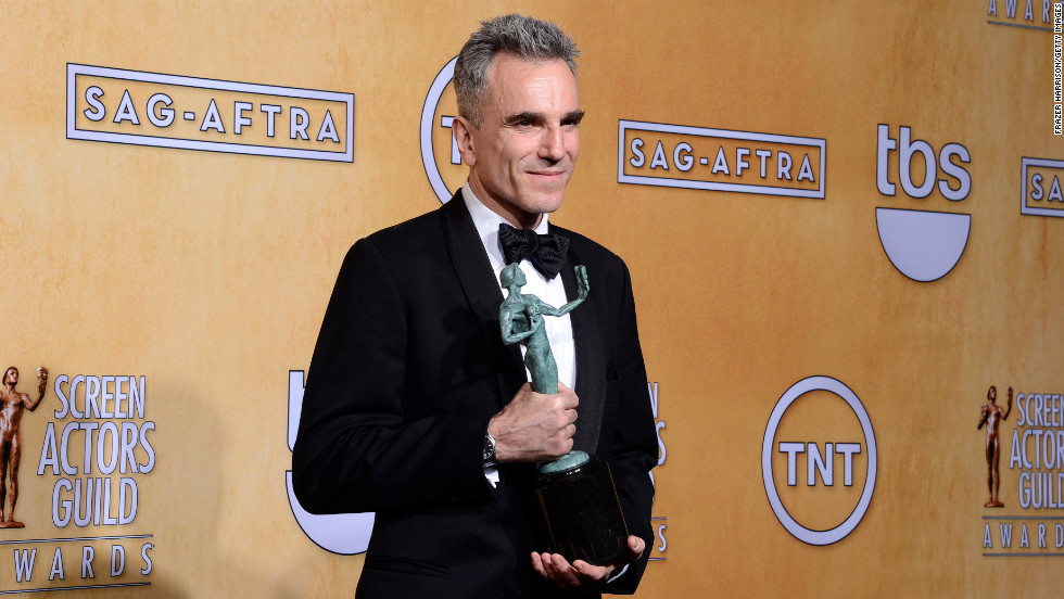 """Daniel Day-Lewis: Outstanding performance by a male actor in a leading role for """"Lincoln."""""""