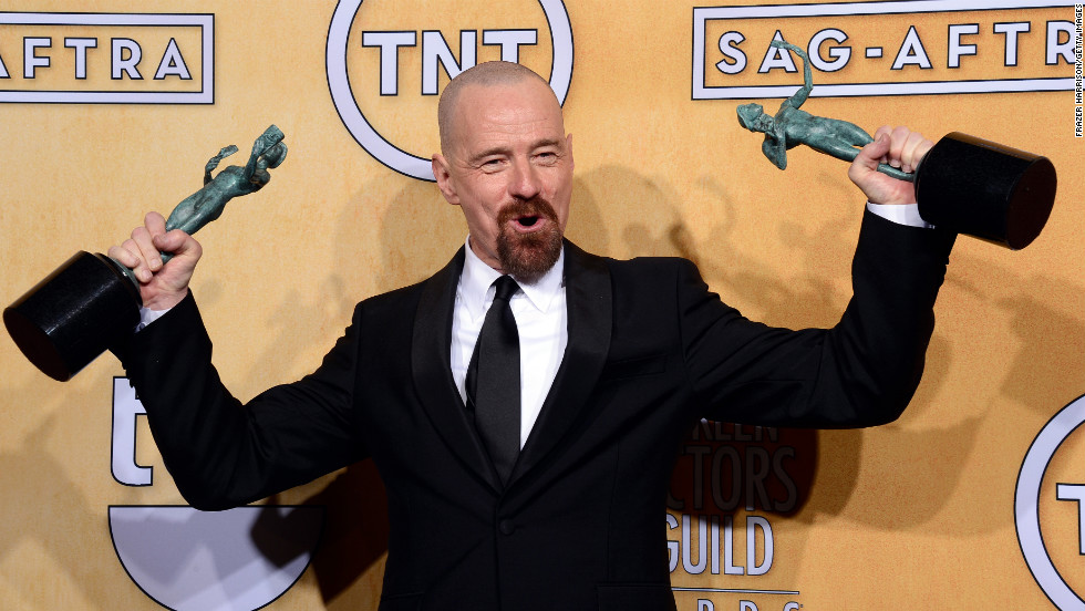 """Bryan Cranston: Outstanding performance by a male actor in a drama series for """"Breaking Bad."""""""