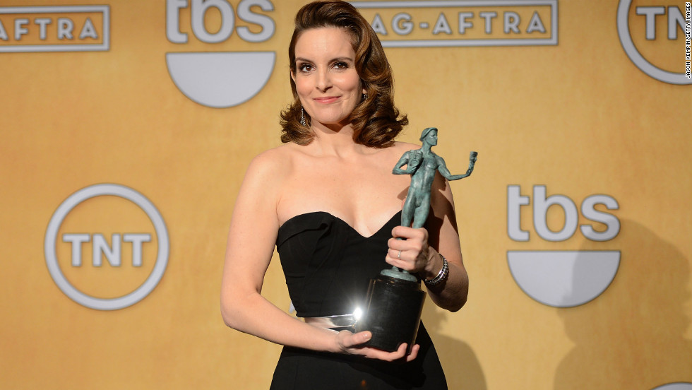 "Tina Fey: Outstanding performance by a female actor in a comedy series for ""30 Rock."""