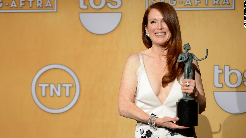 "Julianne Moore: Outstanding performance by a female actor in a television movie or miniseries for ""Game Change."""