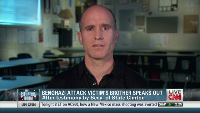 Benghazi victim's brother speaks out
