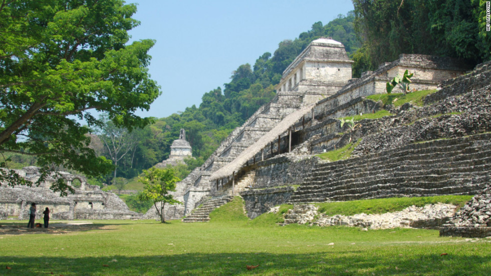 The ruins at Palenque, in a jungle in the state of Chiapas, are among Mexico's best examples of Maya architecture. Visitors flock to the many sites in Mexico that offer clues to ancient lifestyles.
