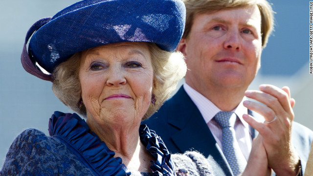 Queen Beatrix to give up Dutch throne