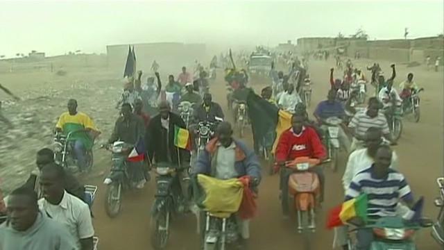 Gao, Mali, celebrates liberation