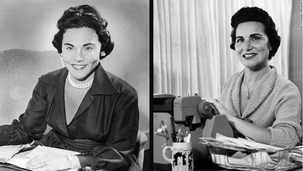 "Esther ""Eppie"" Lederer, left, doled out advice under the name Ann Landers, while her twin sister, Pauline Phillips, authored the ""Dear Abby"" advice column under the pseudonym Abigail Van Buren."