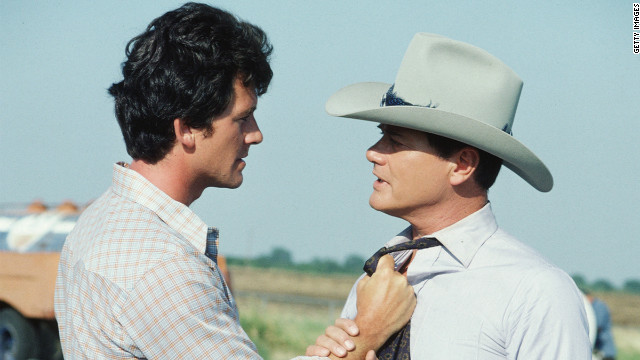 "Probably the biggest brother vs. brother rivalry took place on the popular 1980s TV show, ""Dallas."""