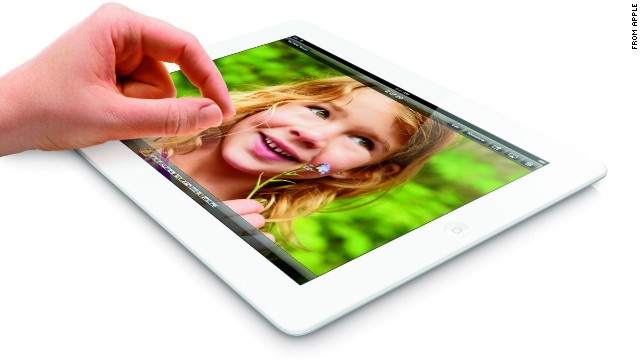 Apple announced a 128GB version of its fourth-generation iPad with Retina display.