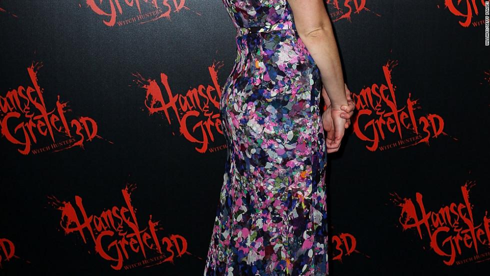 "Gemma Arterton arrives at the premiere of ""Hansel & Gretel: Witch Hunters"" in Sydney, Australia."