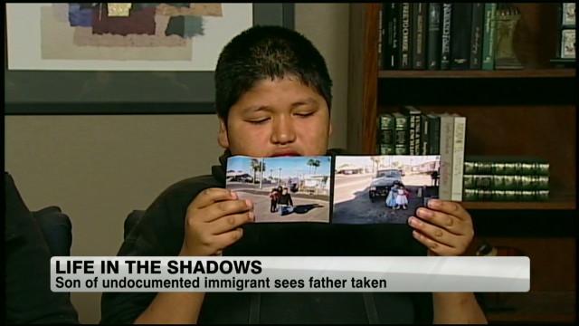 Painfully ironic day for Latino boy