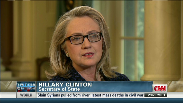 Clinton: Egypt doesn't have an easy task